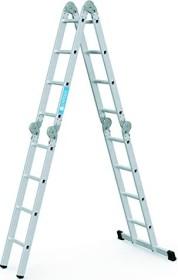 Zarges Z300 aluminum 4-piece. multipurpose ladder 4x 4 stages (42384)