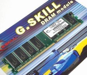 G.Skill NT Series DIMM 1GB, DDR-400, CL3 (F1-3200PHU1-1GBNT)