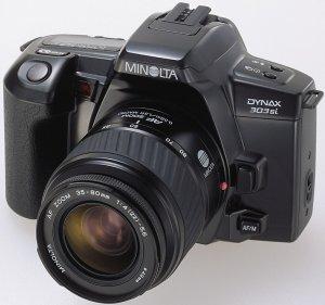 Konica Minolta Dynax 303si (SLR) case