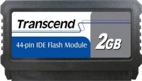 Transcend IDE vertical SLC 2GB, IDE 44-Pin (TS2GDOM44V-S)
