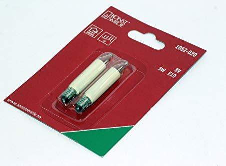 Ersatzbirnen Für Weihnachtsbeleuchtung.Konstsmide Ersatzbirne Für Weihnachtsbeleuchtung Klar 8v 3w E10 1052 020