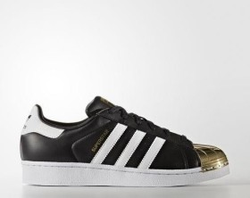 adidas Superstar 80s Metal Toe core blackfootwear whitegold metallic (Damen) (BB5115) ab € 56,89