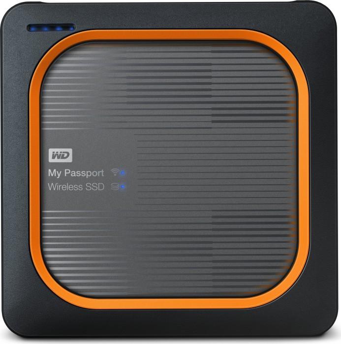 Western Digital WD My Passport Wireless SSD 500GB, USB 3.0 Micro-B/WLAN 802.11a/b/g/n/ac (WDBAMJ5000AGY)