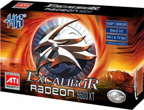 HIS Excalibur Radeon 9600 XT, 256MB DDR, DVI, TV-out, AGP (R9J-11-A)