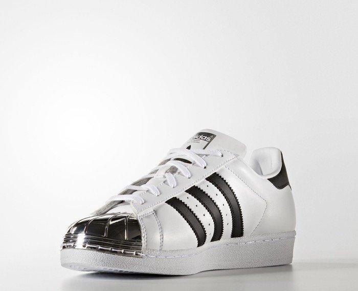8a424af3892f77 adidas Superstar 80s Metal-Toe footwear white core black silver metallic ab  € 141