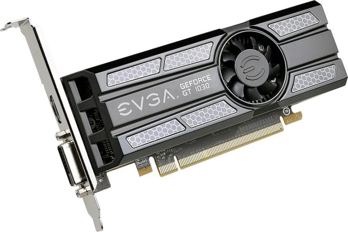 EVGA GeForce GT 1030 SC Low Profile, 2GB GDDR5, DVI, HDMI (02G-P4-6333-KR)