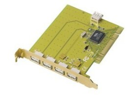 Trust HU-3150, 5x USB 2.0, PCI (13083)