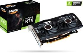 INNO3D GeForce RTX 2060 Gaming OC X2, 6GB GDDR6, HDMI, 3x DP (N20602-06D6X-1710VA15L)