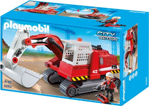 playmobil City Action - Großer Kettenbagger (5282)