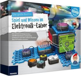 Franzis Die große Baubox - Spiel und Wissen im Elektronik-Labor