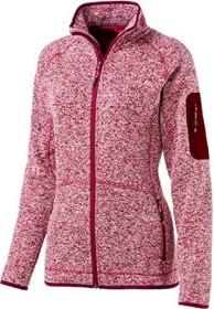 McKinley Skeena Fleece Jacke melange/red (Damen) (7611311127244)