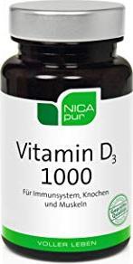 Bild NICApur Vitamin D 1000 Kapseln,  120 Stück