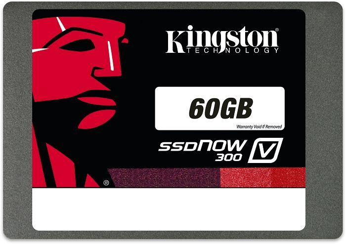 "Kingston SSDNow V300 60GB, 2.5"", SATA 6Gb/s (SV300S37A/60G)"