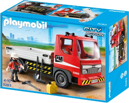 playmobil City Action - Baustellen-LKW (5283)