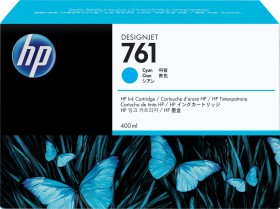 HP Tinte 761 cyan, 3er-Pack (CR272A)