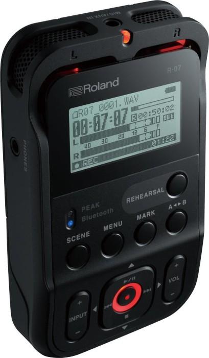 Roland R-07 schwarz