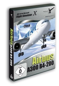 Flight Simulator X - Simcheck Airbus A300 + B4-200 (Add-on) (PC)