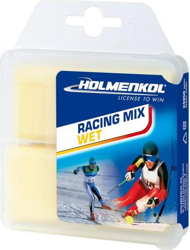 Holmenkol Racing Mix wet gelb 2x35g Wachs -- via Amazon Partnerprogramm