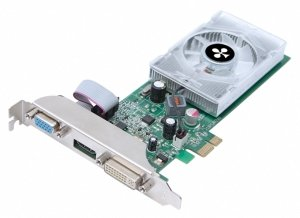 Club 3D GeForce 210 (GT218-300-B1) X1 Edition, 512MB DDR2, VGA, DVI, HDMI (CGNX-212YLIX1)