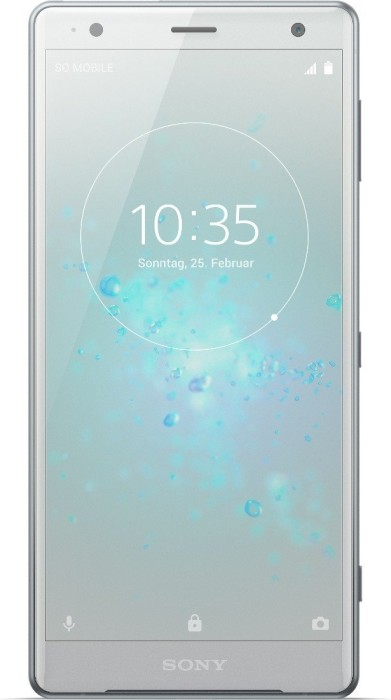 Sony Xperia XZ2 Dual-SIM silber