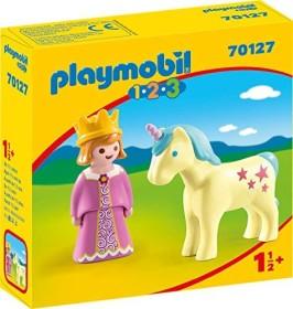 playmobil 1.2.3 - Prinzessin mit Einhorn (70127)