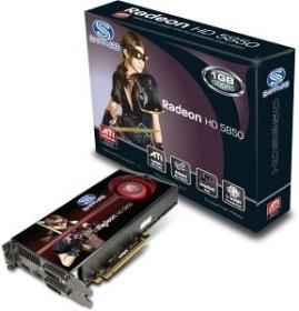 Sapphire Radeon HD 5850, 1GB GDDR5, 2x DVI, HDMI, DP, full retail (21162-00-50R)