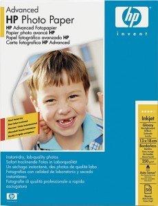 HP Q8696A Advanced Fotopapier 13x18cm, 250g, 25 Blatt