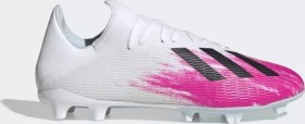 adidas X 19.3 FG cloud white/core black/shock pink (Herren) (EG7132)
