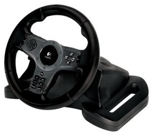 Logitech Driving Force wireless + NFS Undercover (PS3) (EAD03806317)