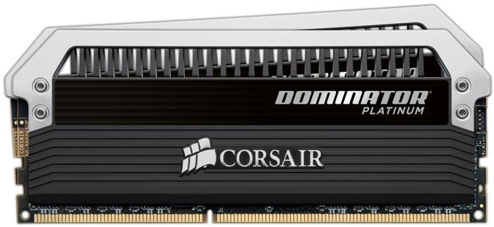 Corsair XMS3 Dominator Platinum DIMM Kit  8GB, DDR3-2133, CL9-11-10-27 (CMD8GX3M2A2133C9)