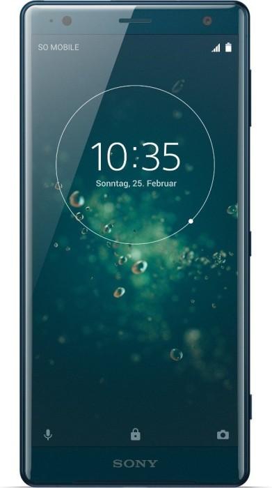 Sony Xperia XZ2 Dual-SIM grün