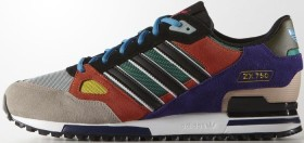 adidas ZX 750 core black/solar red/collegiate purple (Herren) (AF6292)
