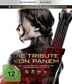 Die Tribute von Panem - Complete Collection (4K Ultra HD)