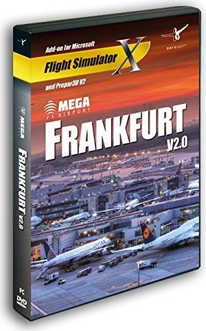 Flight Simulator X - Airport Frankfurt (Add-on) (deutsch) (PC) -- via Amazon Partnerprogramm