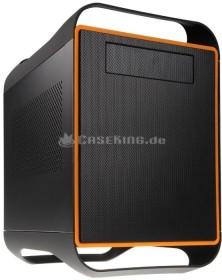 BitFenix Prodigy schwarz/orange, Mini-ITX