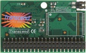 Transcend IDE Flash module horizontal SLC 256MB, IDE 44-Pin (TS256MDOM44H-S)