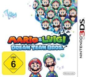 Mario & Luigi - Dream Team Bros. (3DS)