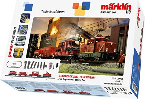 Märklin - Start up Spur H0 Startpackung - Feuerwehr 230V (29752) -- via Amazon Partnerprogramm