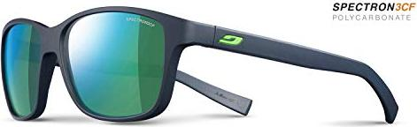 Julbo Sunglasses J 475 Powel 1112 Acetate Plastic Matt Blue Black with Green Mirror Effect rnwUr