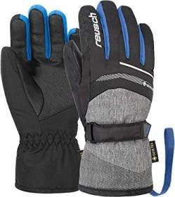 Reusch Bolt GTX Skihandschuhe black melange/brilliant blue (Junior) (4961305-7687)
