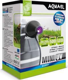 Aquael Mini UV, UV-C Klärer Vorsatzgerät für Aquael Innenfilter, 150l (109521)