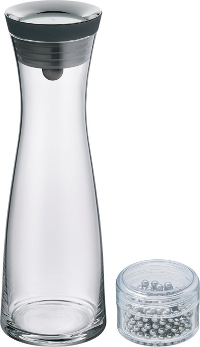 wmf basic water carafe 1l black incl reinigungsperlen starting from uk. Black Bedroom Furniture Sets. Home Design Ideas