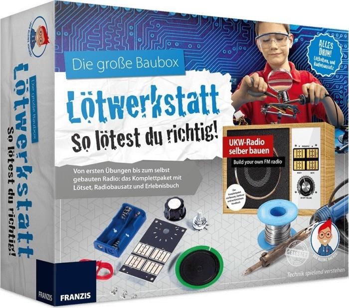 Die große Baubox Lötwerkstatt So geht Löten 6916461 Neu Franzis