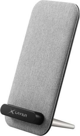 XLayer wireless Charger desktop 10W grey (214419)