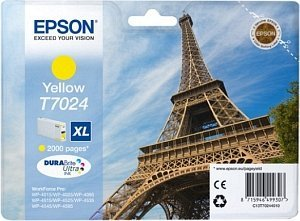 Epson T7024 ink yellow high capacity (C13T70244010)