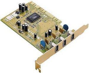 Trust VI-2100/DV411P FireWire DV Kit, PCI (12824)