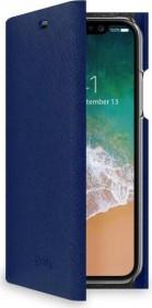 Celly Shell für Apple iPhone X/Xs blau (SHELL900BL)