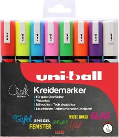 Uni-Ball Chalk PWE-5M Kreidemarker sortiert, 8er-Set (186208)