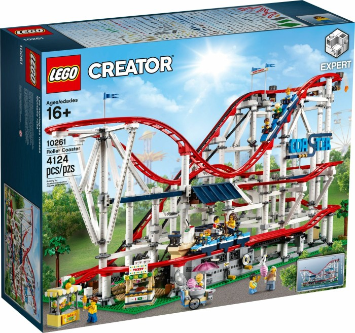Lego Creator Expert Achterbahn Ab 329 99 2019 Preisvergleich