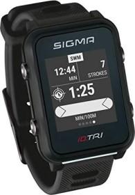 Sigma Sport iD.TRI inkl. Brustgurt und Geschwindigkeits-/Trittfrequenzsender schwarz (24250)